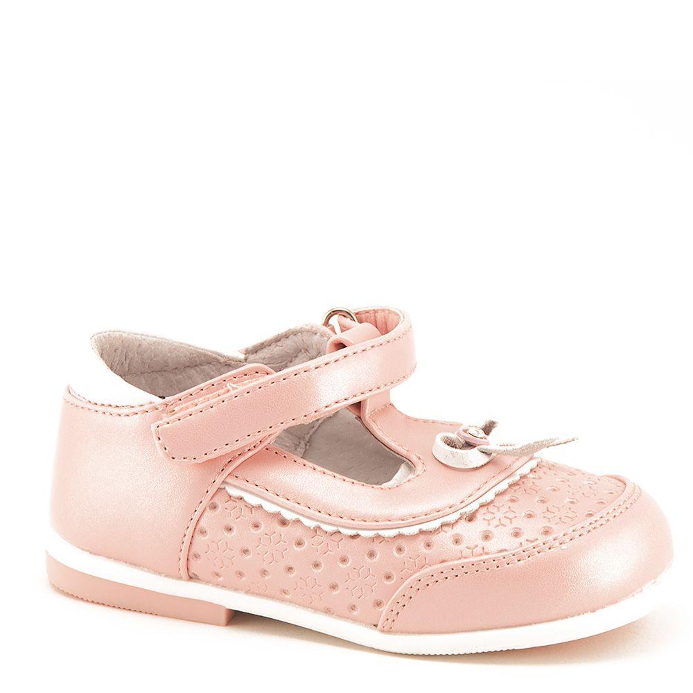 Розовые туфли для девочки на размер 25