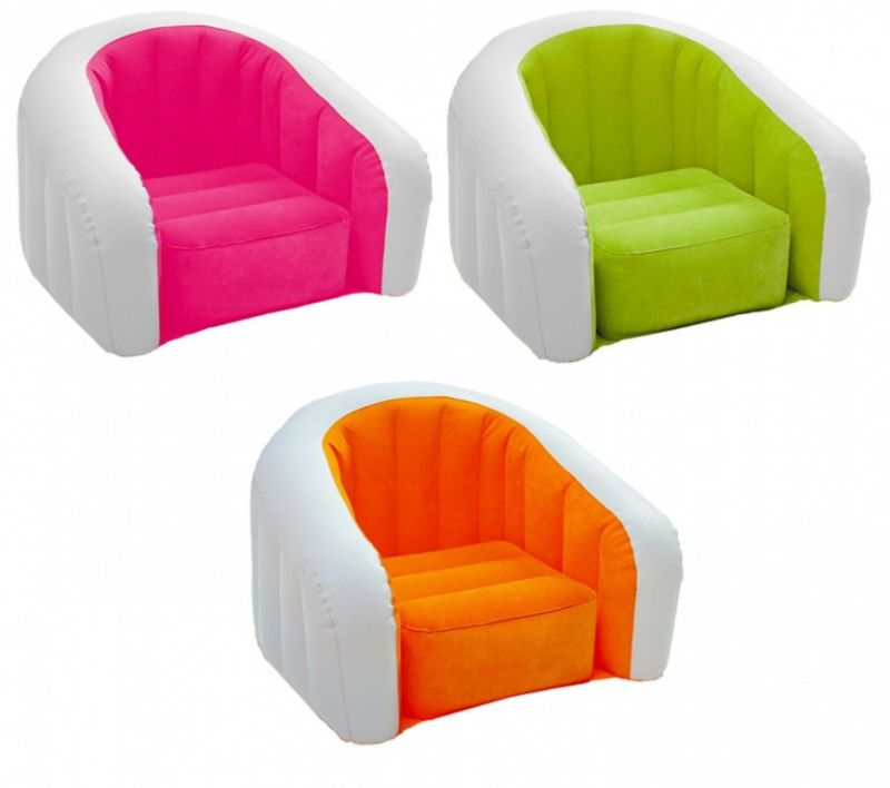 Кресло надувное Intex (68597) Cafe Club Chair