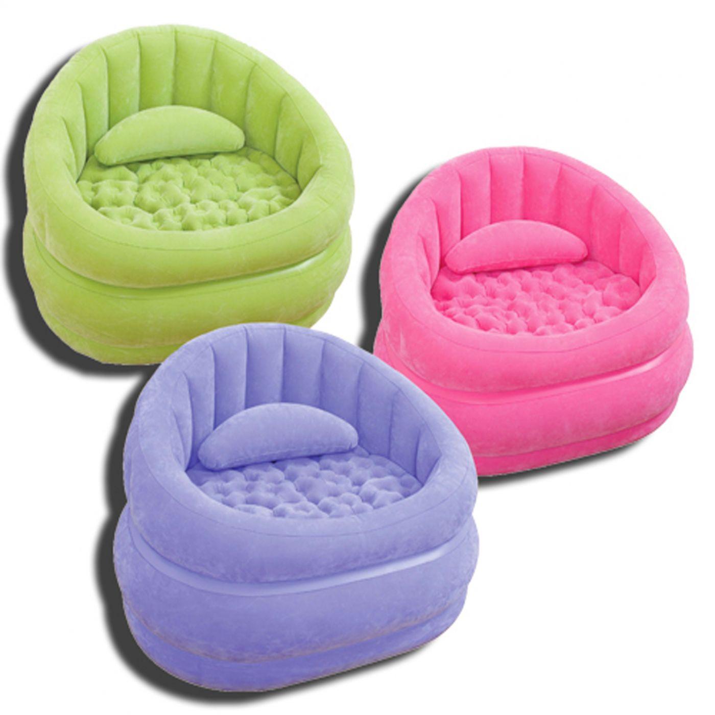 Кресло надувное Intex (68563) Cafe Chair