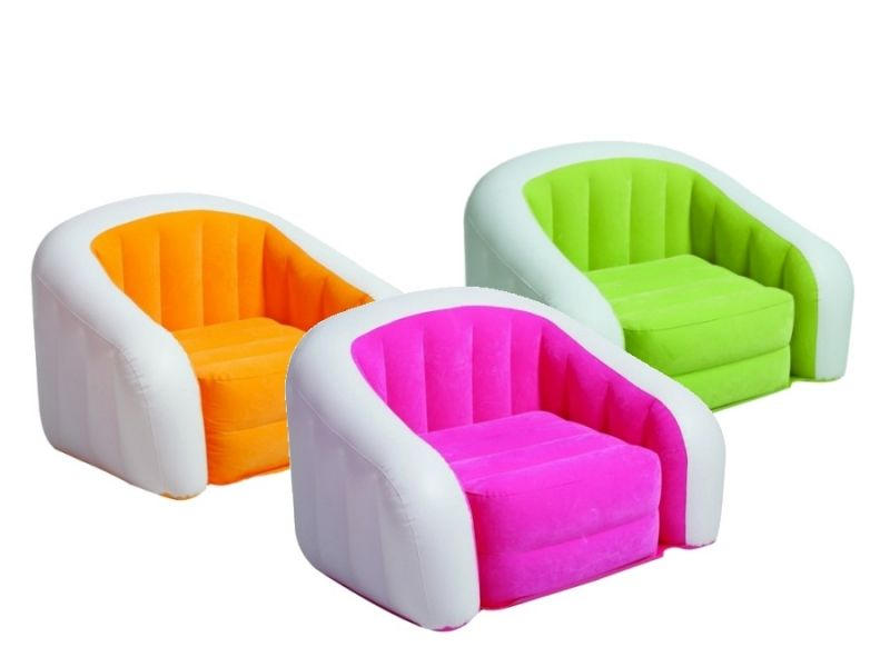 Кресло надувное Intex (68571) Cafe Club Chair