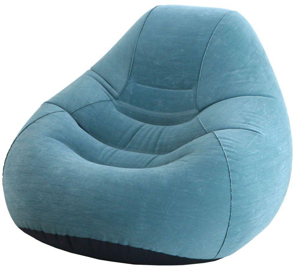 Кресло надувное Intex (68583) Deluxe Beanless Bag
