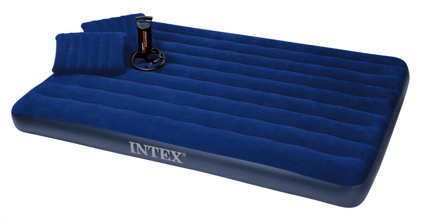 Надувной матрас Intex (68765) Classic Downy Queen