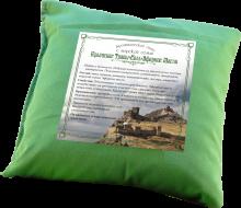 """Ароматическое саше подушка 20х20 """"Можжевельник+травы+соль+эфирное масло"""""""