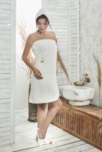 Набор для сауны женский PARIS (кремовый) Арт.325-8