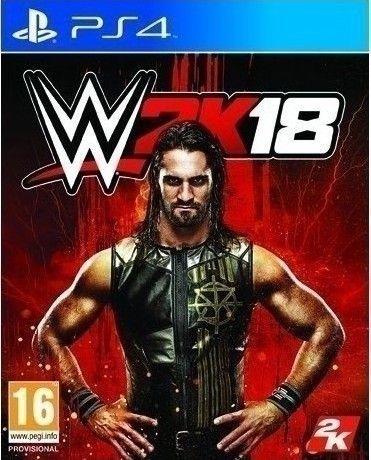 Игра WWE 2K18 (PS4)