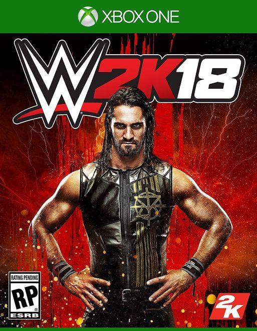 Игра WWE 2K18 (Xbox One)