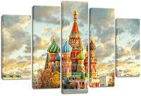 Модульная картина Собор Василия Блаженного