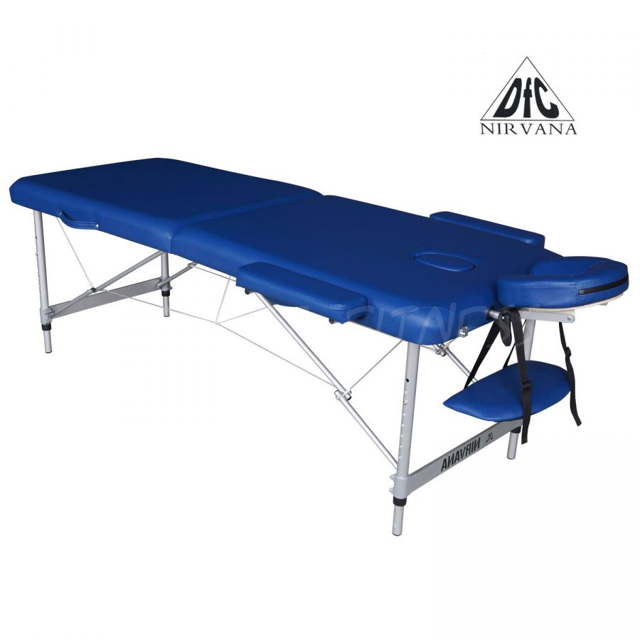 Массажный стол DFC NIRVANA Elegant Luxe (цвет голубой )