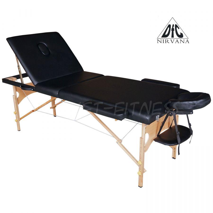 Массажный стол DFC NIRVANA Relax Pro (цвет черный)