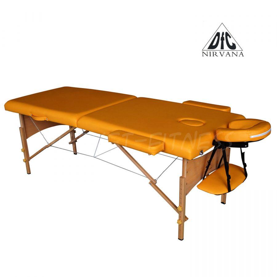 Массажный стол DFC NIRVANA Relax (цвет горчичный)