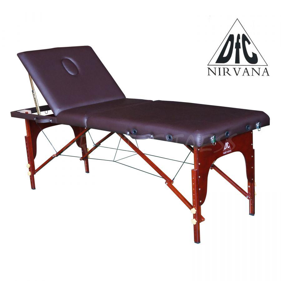 Массажный стол DFC NIRVANA Relax Pro (цвет коричневый)