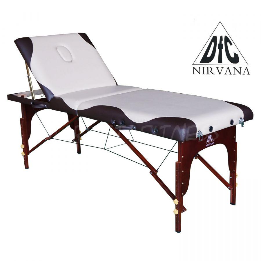 Массажный стол DFC NIRVANA Relax Pro (цвет бежевый/коричневый)