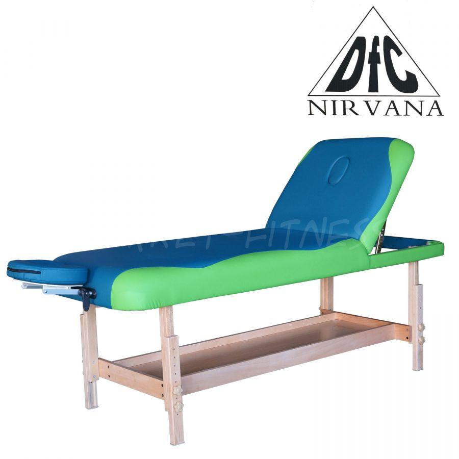 Массажный стол DFC NIRVANA SUPERIOR TS200 (цвет бирюз.с зелен.)