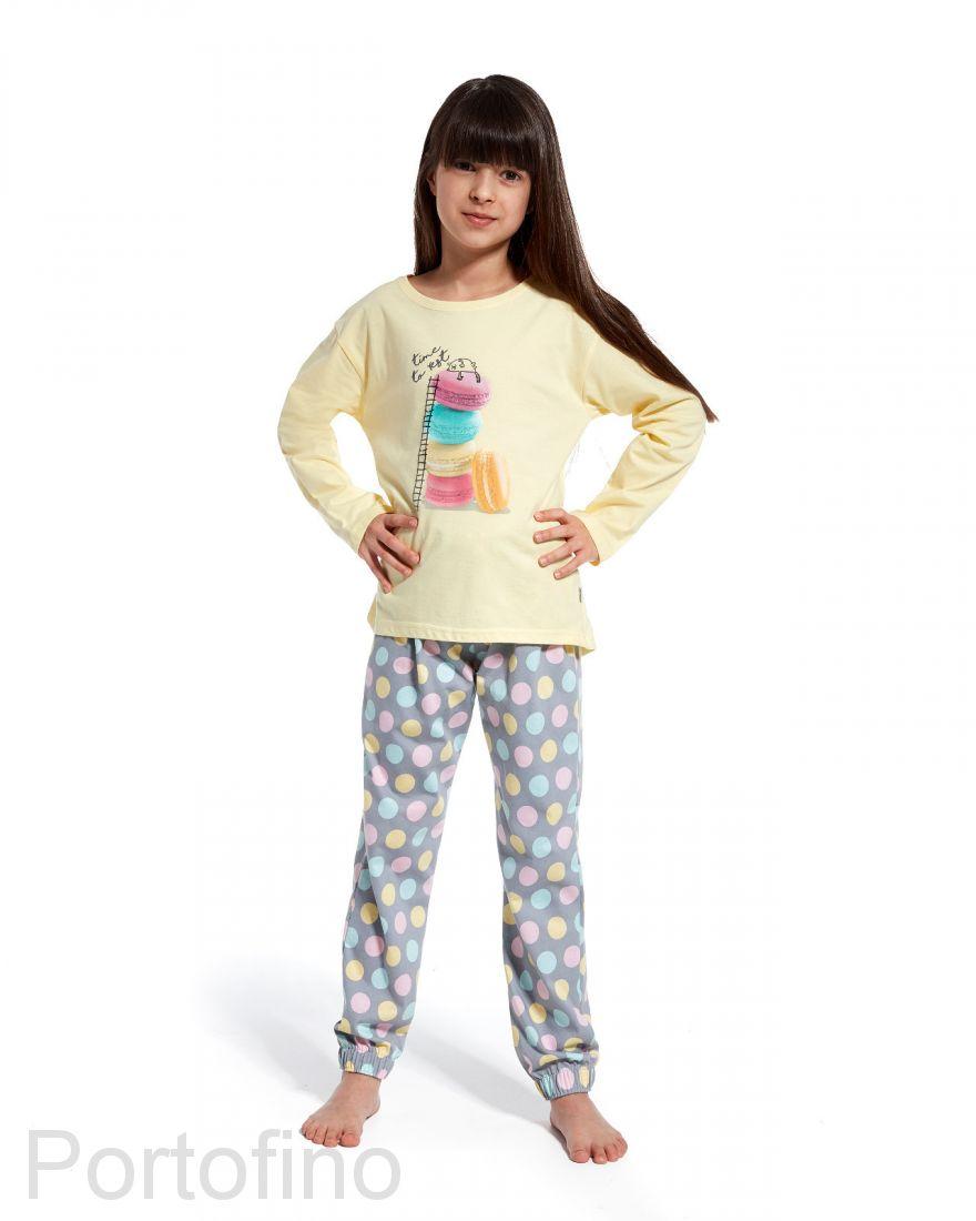 972-83 Пижама для девочки длинный рукав Cornette