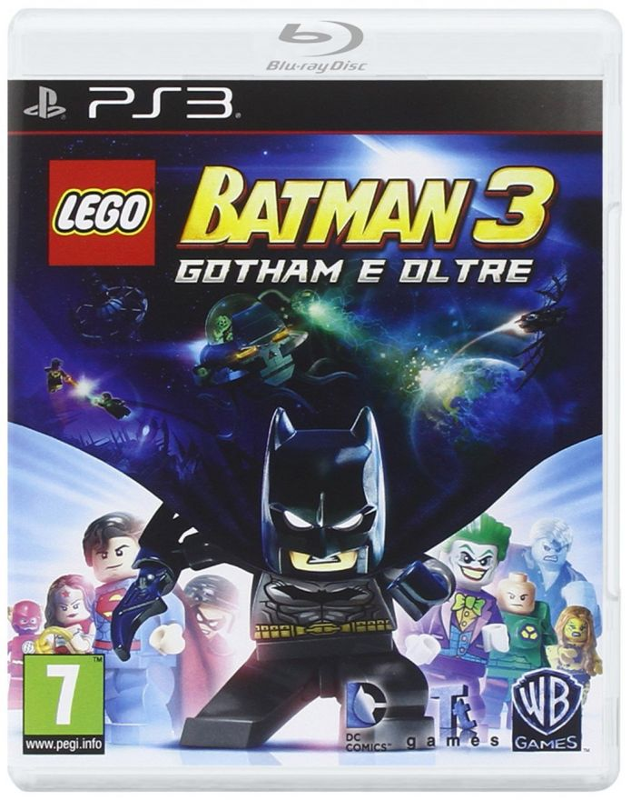 Игра Lego Batman 3 Beyond Gotham (PS3)
