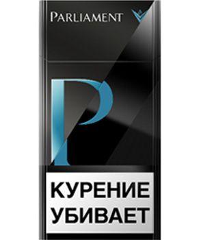 Сигареты Parliament P черного цвета