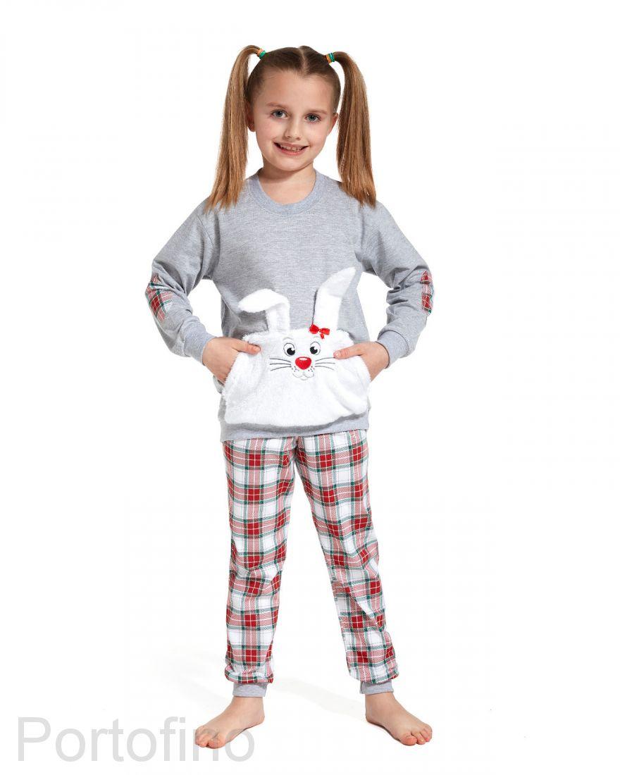779-78 Пижама для девочки длинный рукав Cornette
