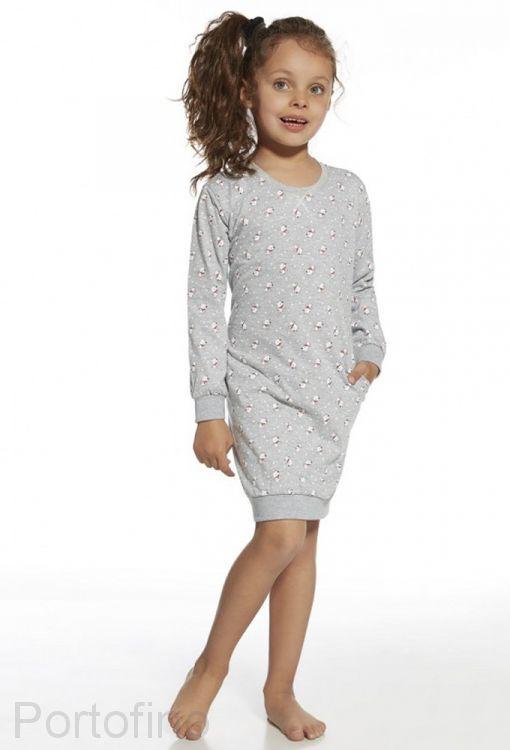 942-73 Пижама для девочки дл.рукав Cornette