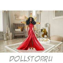 Коллекционная кукла Праздничная Барби 2017 - Barbie 2017 Holiday Doll