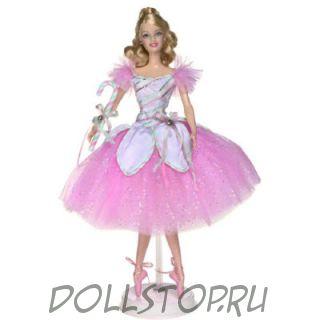 Коллекционная кукла Барби Балерина Мятный леденец из Щелкунчика - Peppermint Candy Cane Barbie Doll