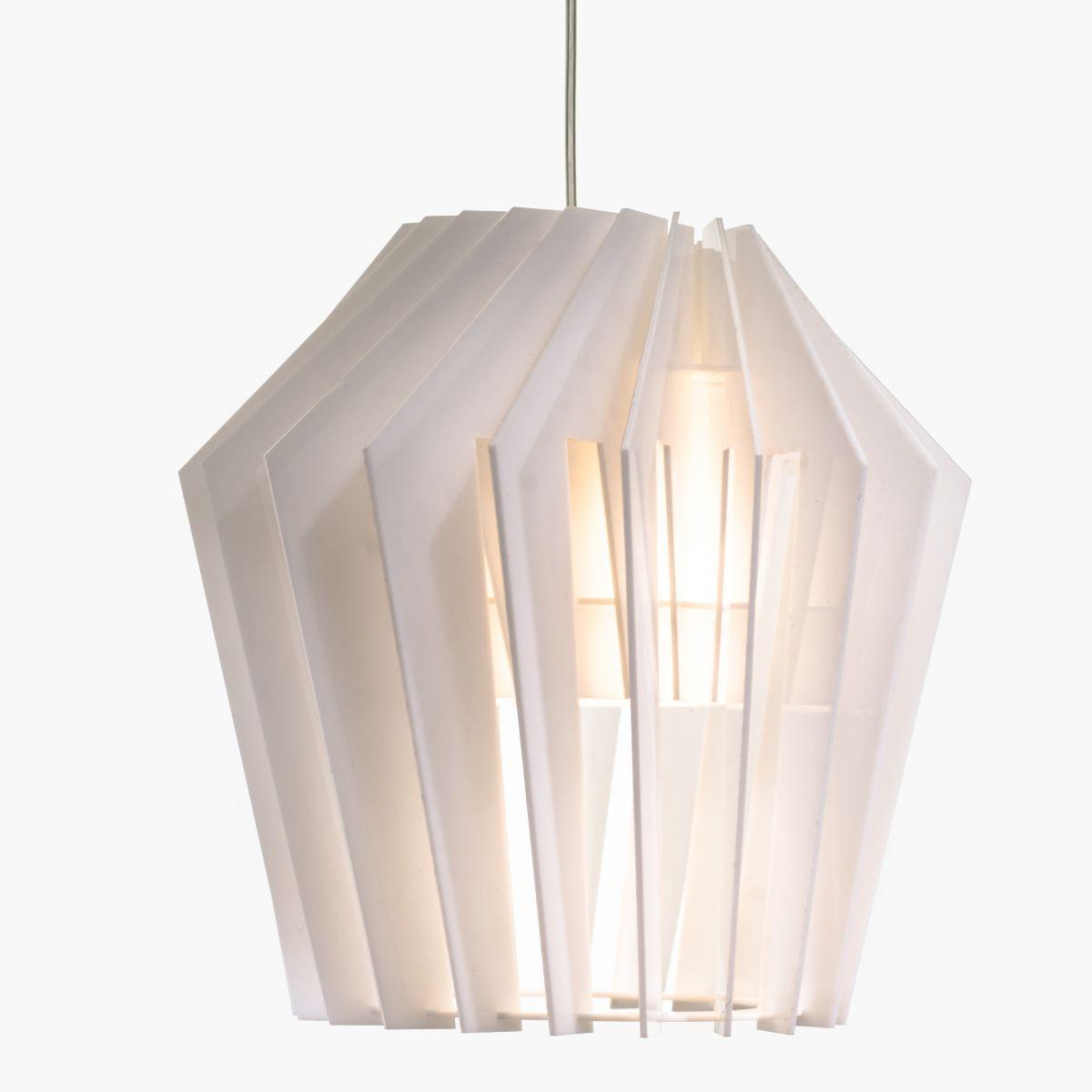 Турболампа из акрила, большая (подвесной/настольный светильник)