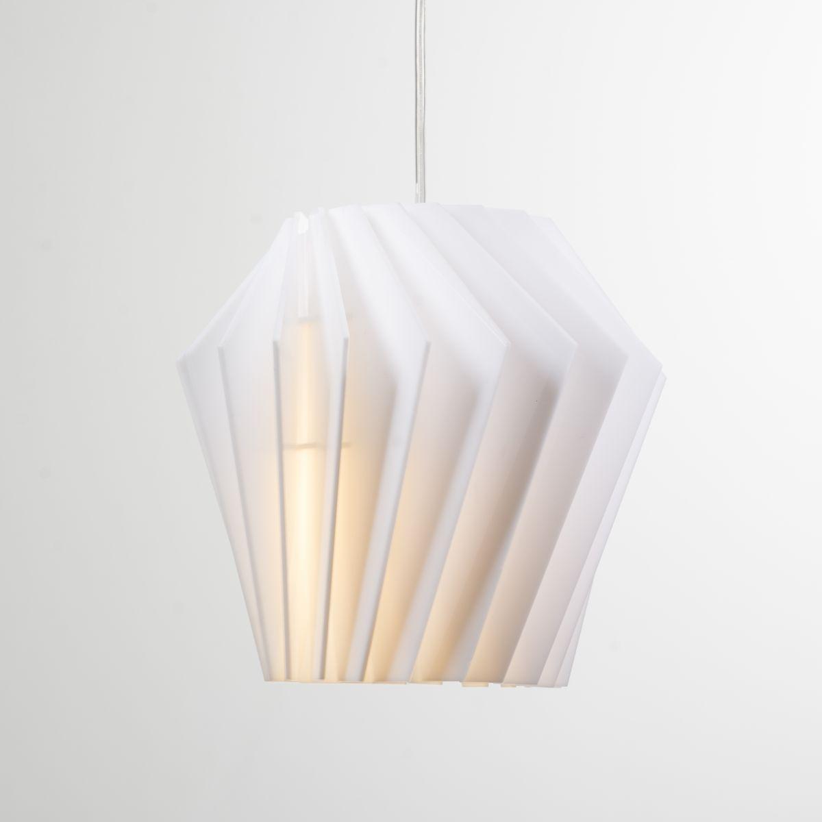 Турболампа из акрила, средняя - подвесной светильник