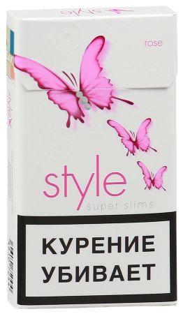 Сигареты Style Super Slims Rose Jade