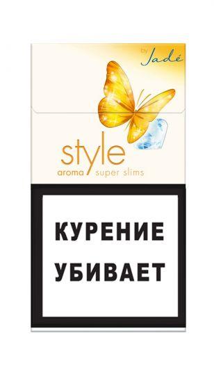 Сигареты Style Super Slims Aroma Jade