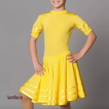 Детское платье с коротким рукавом