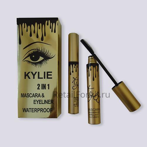 Набор Kylie 2 в 1 тушь для ресниц и подводка для глаз