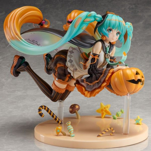 Фигурка Hatsune Miku TRICK or MIKU illustration by Hidari