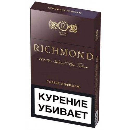 Сигареты Richmond суперслим Кофе