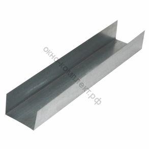 Профиль  направляющий ПН 50/40 3м 0,6 мм 1уп=600/504шт