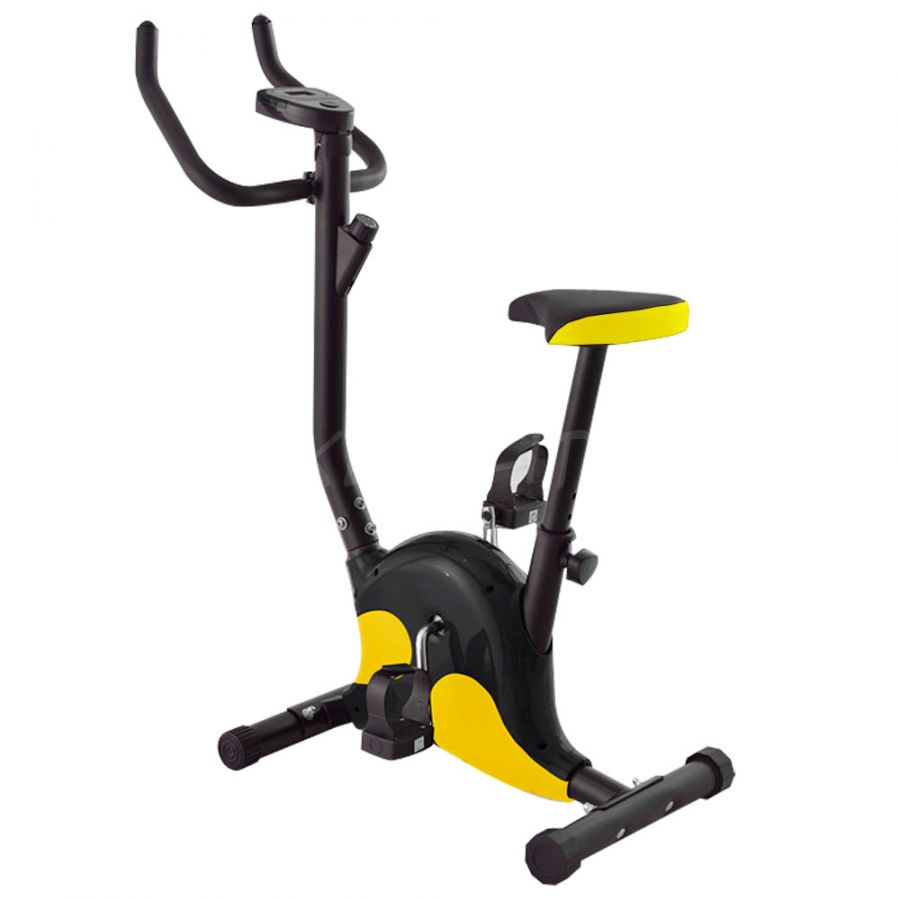Велотренажер  DFC VT-8012 черн/желт
