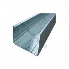 Профиль стоечный ПС 75/50 3м 0,6 мм 1уп=252/432шт