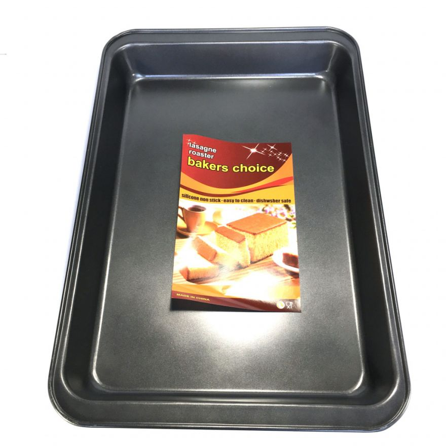 Глубокий противень с антипригарным покрытием Bakers Choice (Размер: 31x47x5 см)
