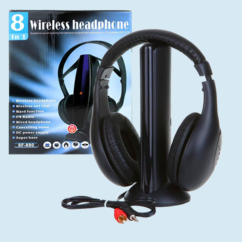 Беспроводные наушники Wireless Headphone 8 in1