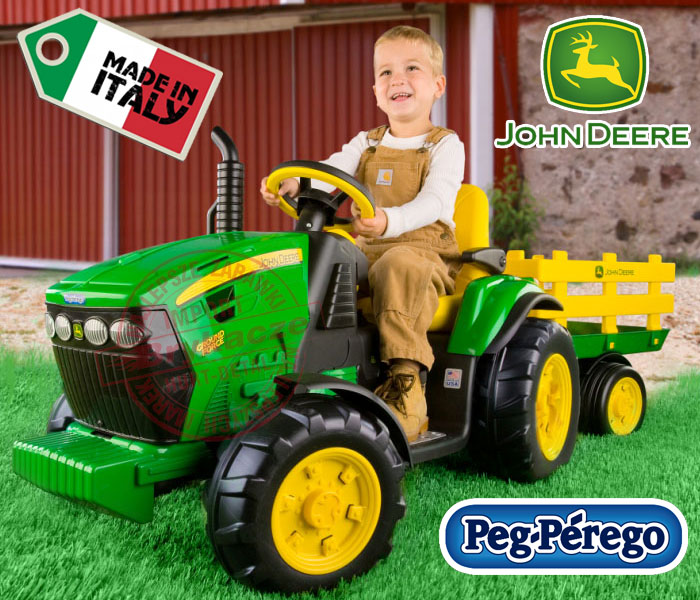 Детский электро трактор Peg Perego igor0047