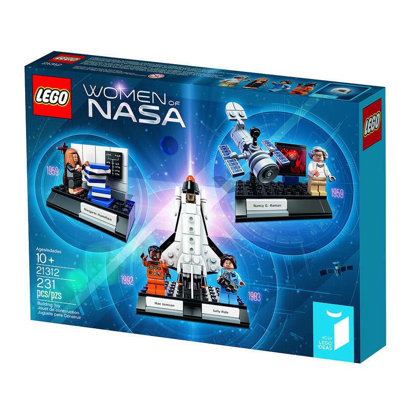 Женщины NASA. Конструктор ЛЕГО Ideas 21312