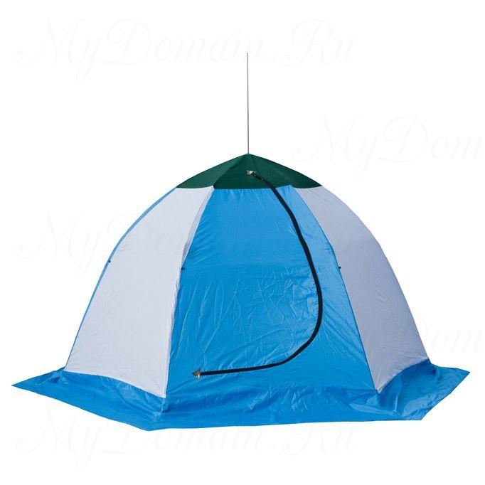 Палатка-зонт без дна СТЭК Elite 2-х мест. (брезент)