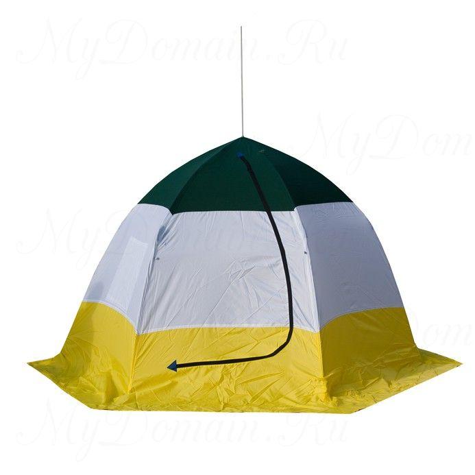 Палатка-зонт без дна СТЭК Elite 3-х мест. (брезент)