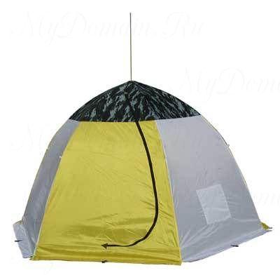 Палатка-зонт без дна СТЭК Классика 3-х мест. (брезент)