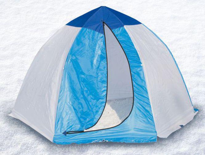 Палатка-зонт без дна СТЭК Классика с алюм. звездочкой 3-х мест.