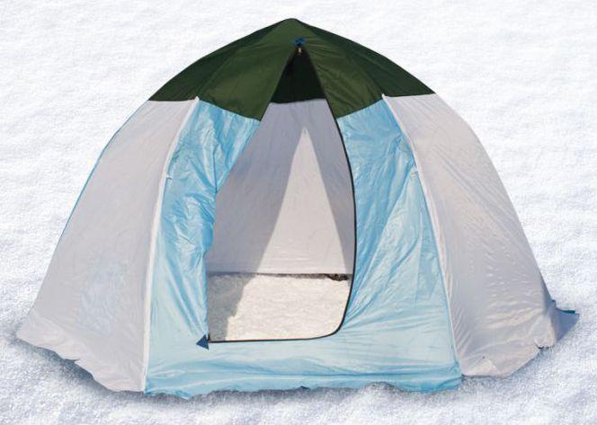 Палатка-зонт без дна СТЭК Классика с алюм. звездочкой 4-х мест. (брезент)