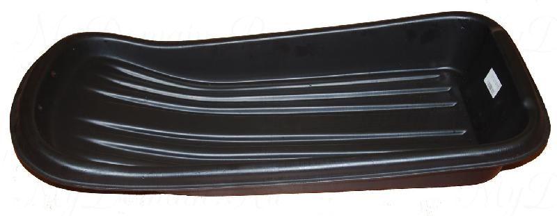Сани рыбацкие (пласт. корыто) № 1/2 865х460х130 черный