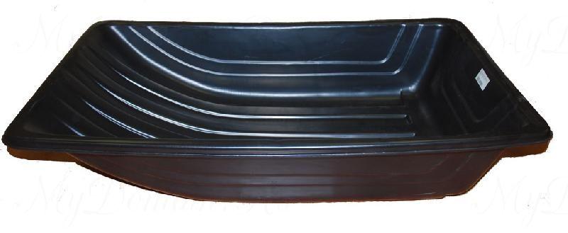 Сани рыбацкие (пласт. корыто) № 4 1020х620х220 черный