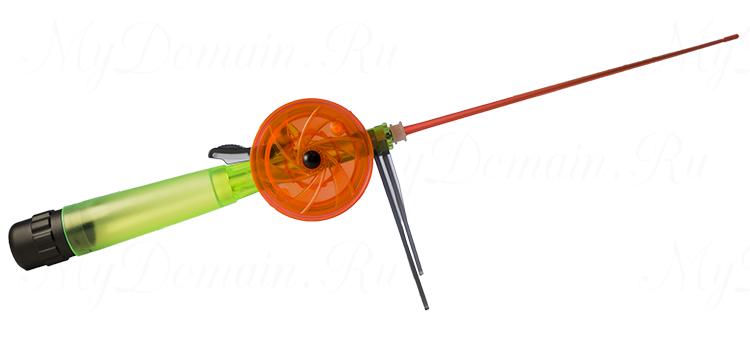 Удочка зимняя с поликарбонатовой ручкой WH 65 L200 ЗЗ