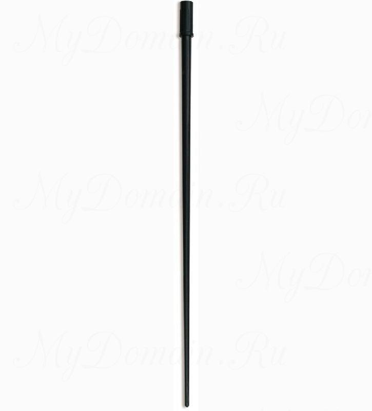 Шестик ПИРС АБС 180мм, черный (пластик АБС)