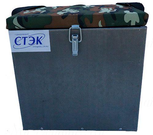 Ящик СТЭК алюминиевый 18л, 310х300х190 (1,0mm)
