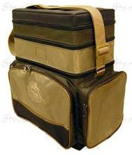 Ящик пенопластовый в сумке. с 3-мя отд. 400х300х190 (2+3+10л)